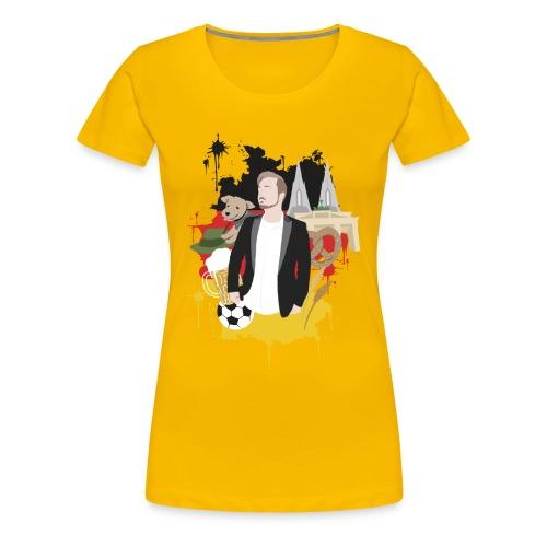 Get Germanized - Frauen Premium T-Shirt