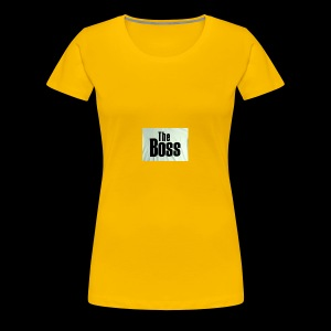 the boss - Women's Premium T-Shirt