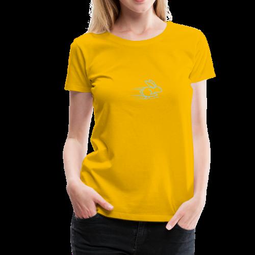 Hasenbraten - Frauen Premium T-Shirt