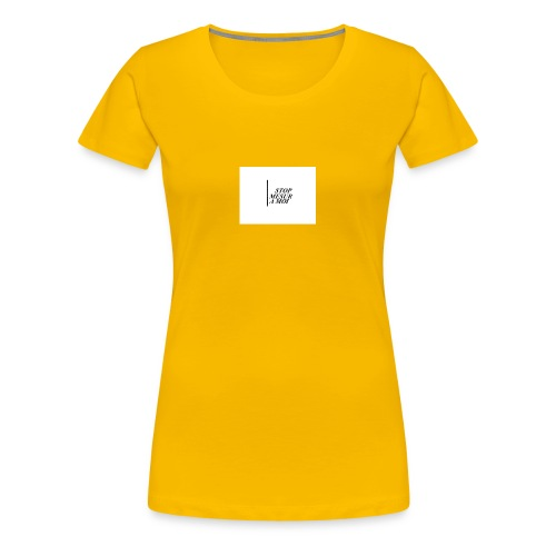 STOP - T-shirt Premium Femme
