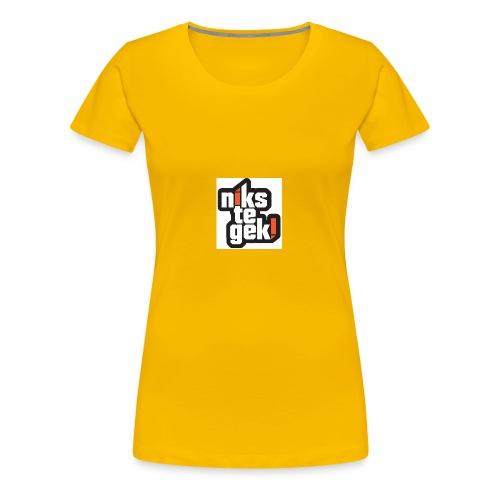 nikstegek shirt - Vrouwen Premium T-shirt