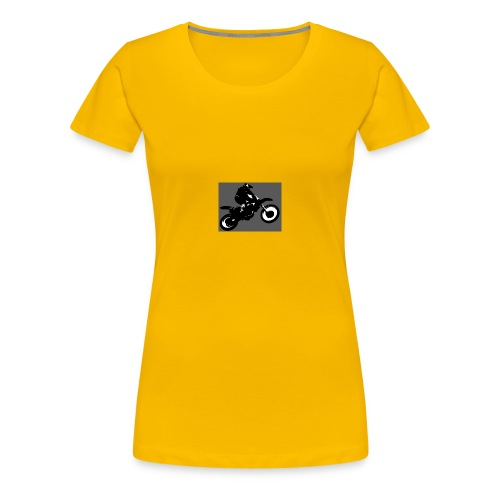 wheelie - Women's Premium T-Shirt