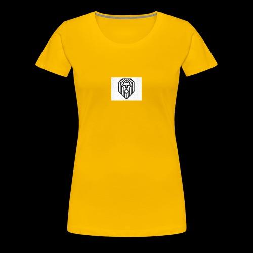 lion logo - T-shirt Premium Femme