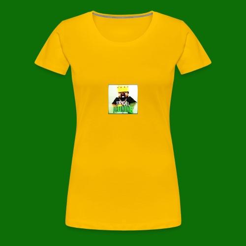 TrollKoning - Vrouwen Premium T-shirt