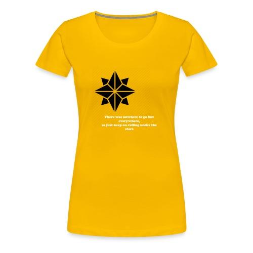 North Star - Maglietta Premium da donna