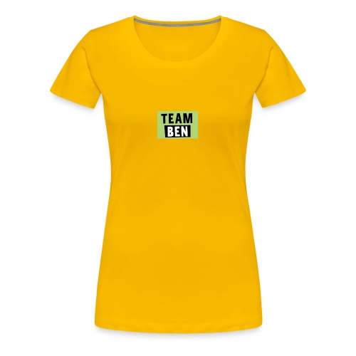 Team Ben - Women's Premium T-Shirt
