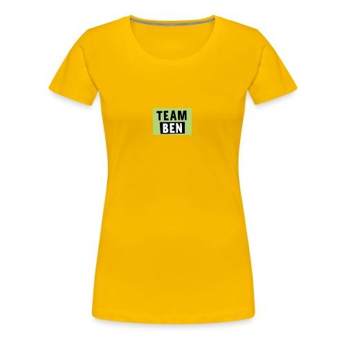 Team Ben - Women's Premium T-Shirt