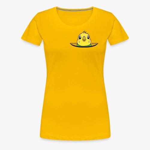 Taschenfogel - Frauen Premium T-Shirt