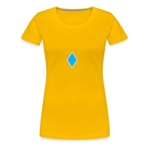 Diamond blue - Women's Premium T-Shirt