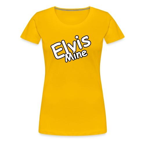 ElvisMineS - Premium-T-shirt dam
