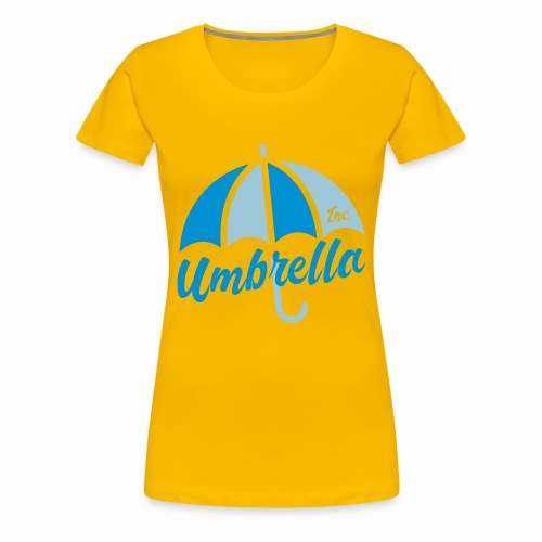 Umbrella Inc. Tipo under logo - Camiseta premium mujer