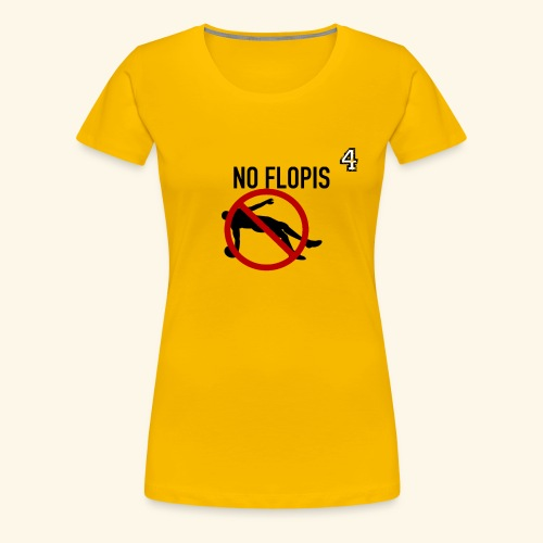 No Flopis - 4 - Camiseta premium mujer