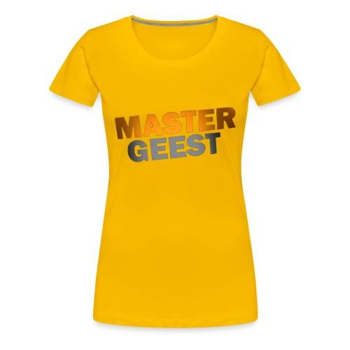 Mastergeest T-Shirt met lange mouwen - Vrouwen Premium T-shirt