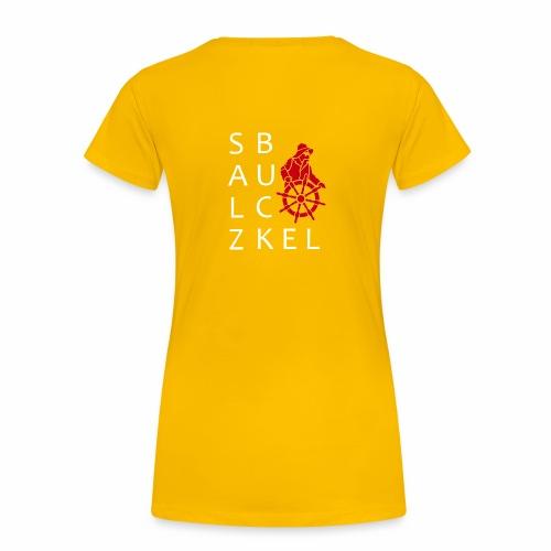 SalzBuckel - vom Wind geprägt - Frauen Premium T-Shirt