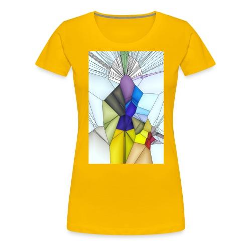 Optimistik Art - T-shirt Premium Femme