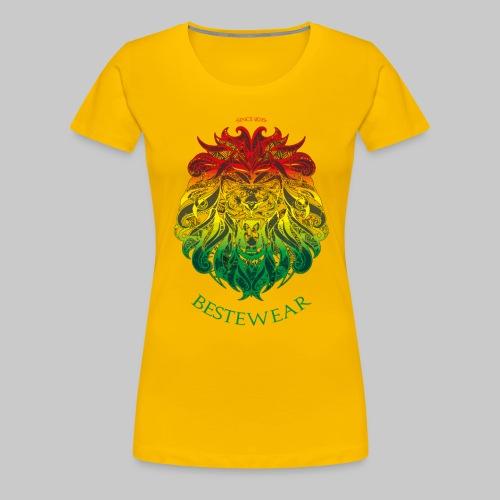 #Bestewear - Rastafari Lion - Frauen Premium T-Shirt