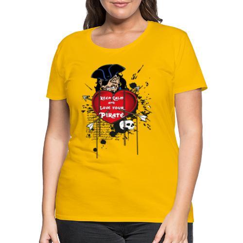 love your pirate - Maglietta Premium da donna