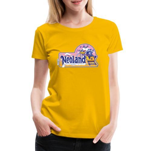 Neoland - das Kreativ- und Digitalparadies - Frauen Premium T-Shirt