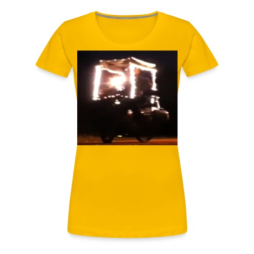 Kaufen Sie Frohe Weihnachten Lichter T-Shirt für Männer Frauen - Frauen Premium T-Shirt