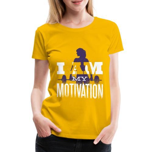 Motivation. - Frauen Premium T-Shirt