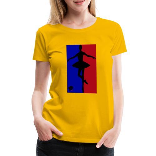 LionHeart Tänzerin, ballerina, artist - Frauen Premium T-Shirt