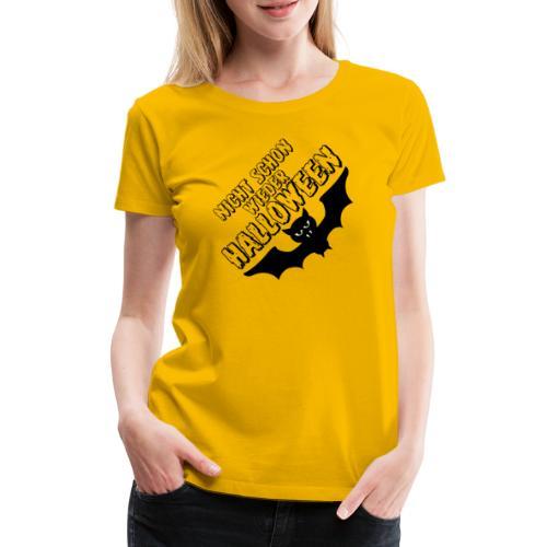 Eine genervte Fledermaus - Halloween Kostüm - Frauen Premium T-Shirt