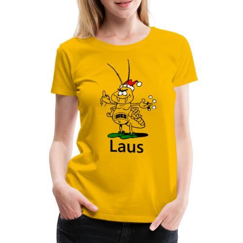 Nikolaus oder besser gesagt Niko der Laus - Frauen Premium T-Shirt