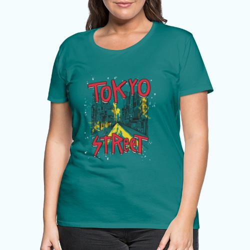 Travel To Tokyo 80s Retro Vintage - Women's Premium T-Shirt