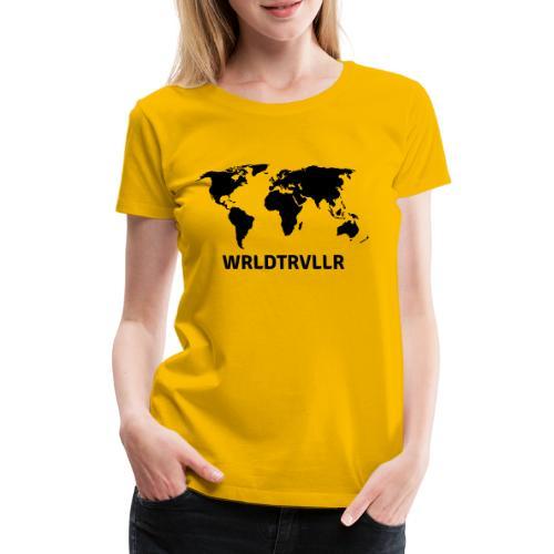 Worldtraveller - Frauen Premium T-Shirt