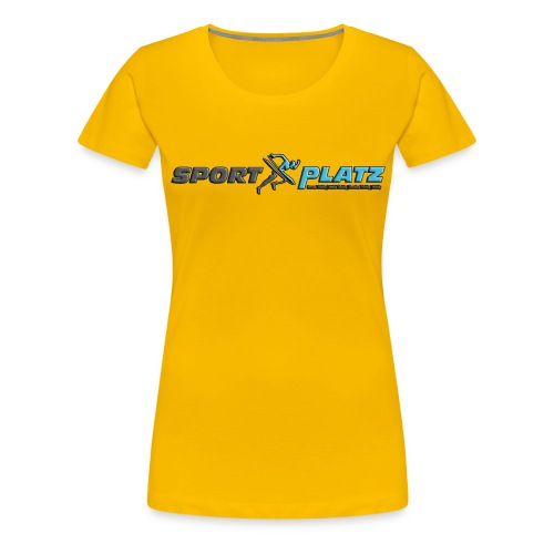 SportPlatz Kollektion - Frauen Premium T-Shirt