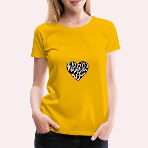 Pwr - Premium-T-shirt dam