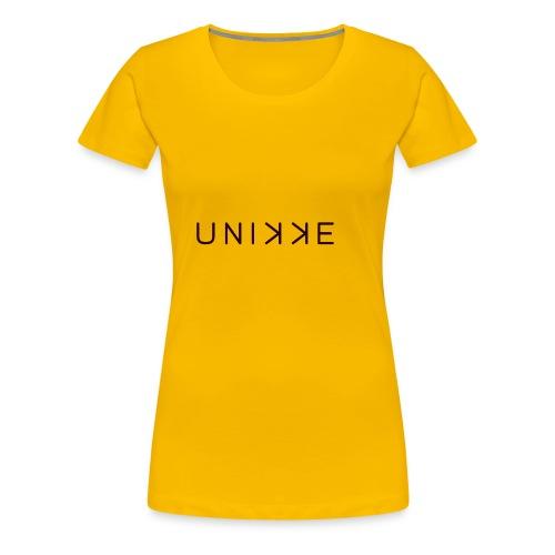 LogoUnikkeBrand - Women's Premium T-Shirt