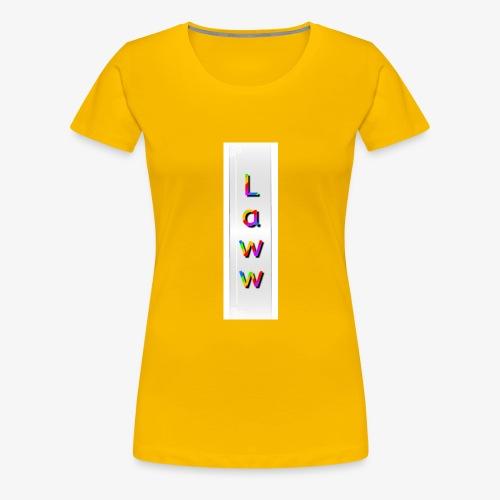 Colorlaww - T-shirt Premium Femme