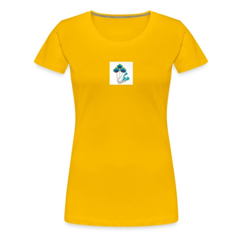 Peacock feather - Women's Premium T-Shirt