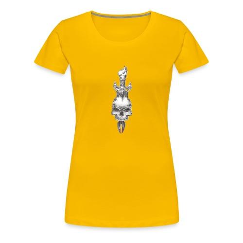 with love comes death - Women's Premium T-Shirt