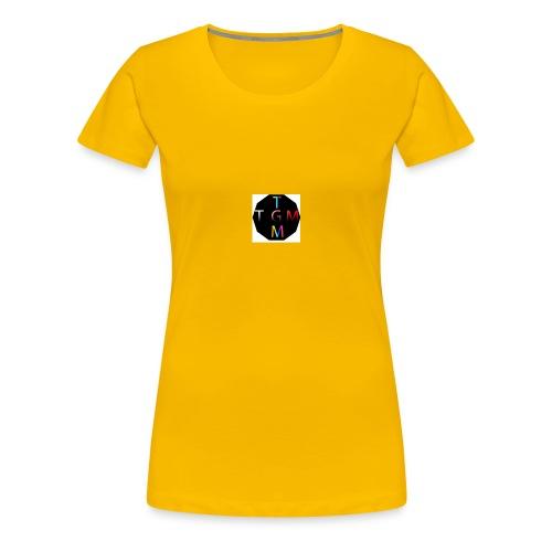 dinmammaslogga - Premium-T-shirt dam