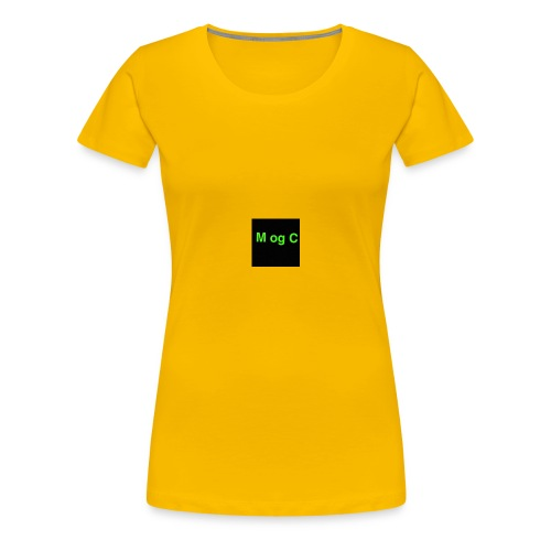 mogc - Dame premium T-shirt