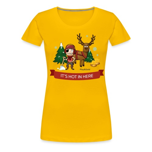 tshirt noel2 - T-shirt Premium Femme