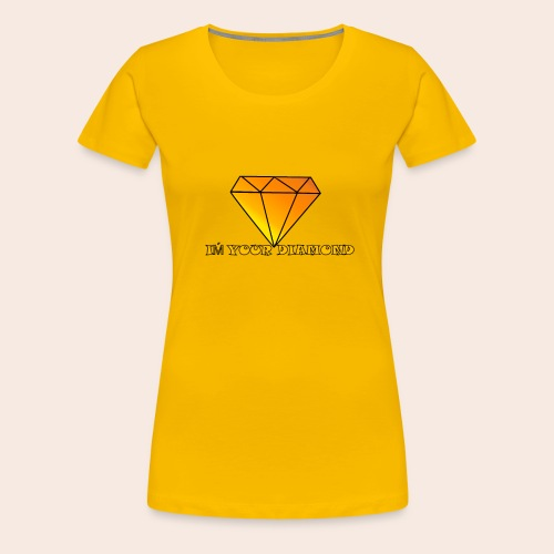 Diamond - Frauen Premium T-Shirt