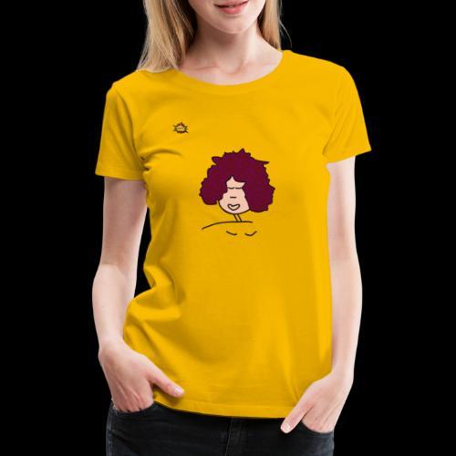 Mähne - Frauen Premium T-Shirt