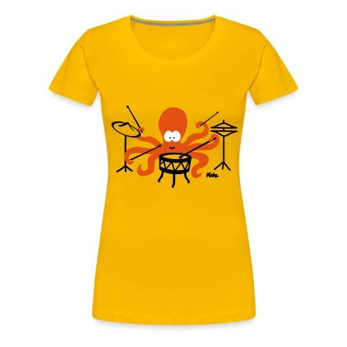 Tintenfisch (c2) - Frauen Premium T-Shirt