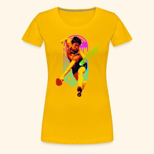 Best slashing serve table tennis champ - Frauen Premium T-Shirt