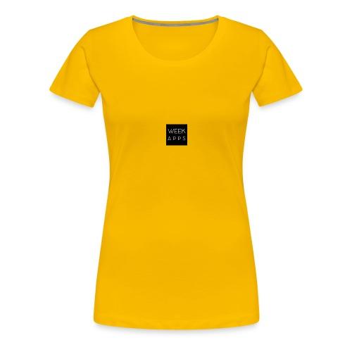 weekapps - Women's Premium T-Shirt