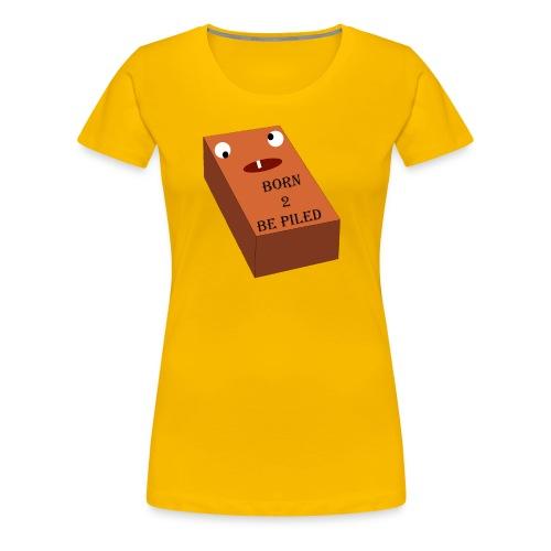 Brick Life - Vrouwen Premium T-shirt