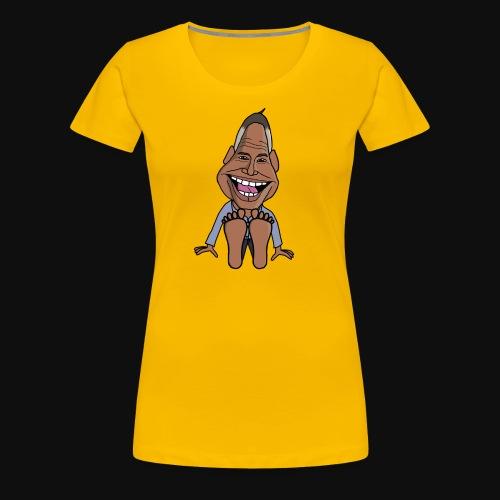 Fötter K - Premium-T-shirt dam
