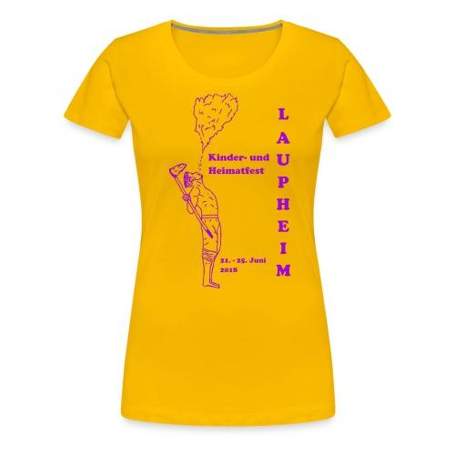 KuH Shirt 2018 - Frauen Premium T-Shirt