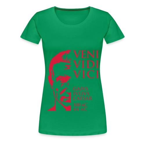 caesar - Camiseta premium mujer
