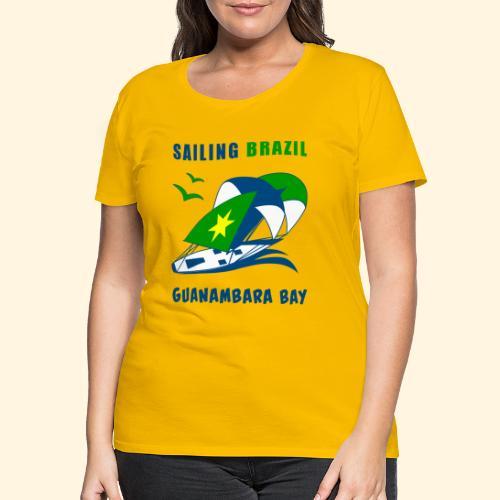 Sailing Brazil - Women's Premium T-Shirt