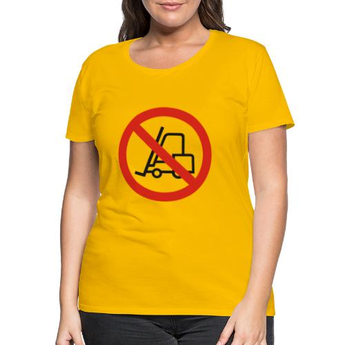 Stapler Crew Stagehand - Frauen Premium T-Shirt