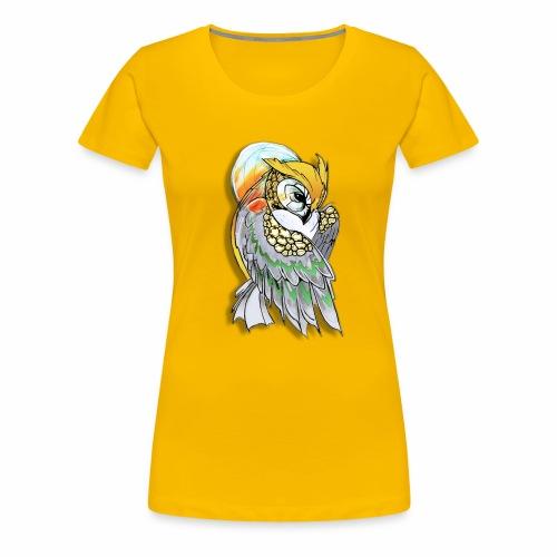 Cosmic owl - Camiseta premium mujer